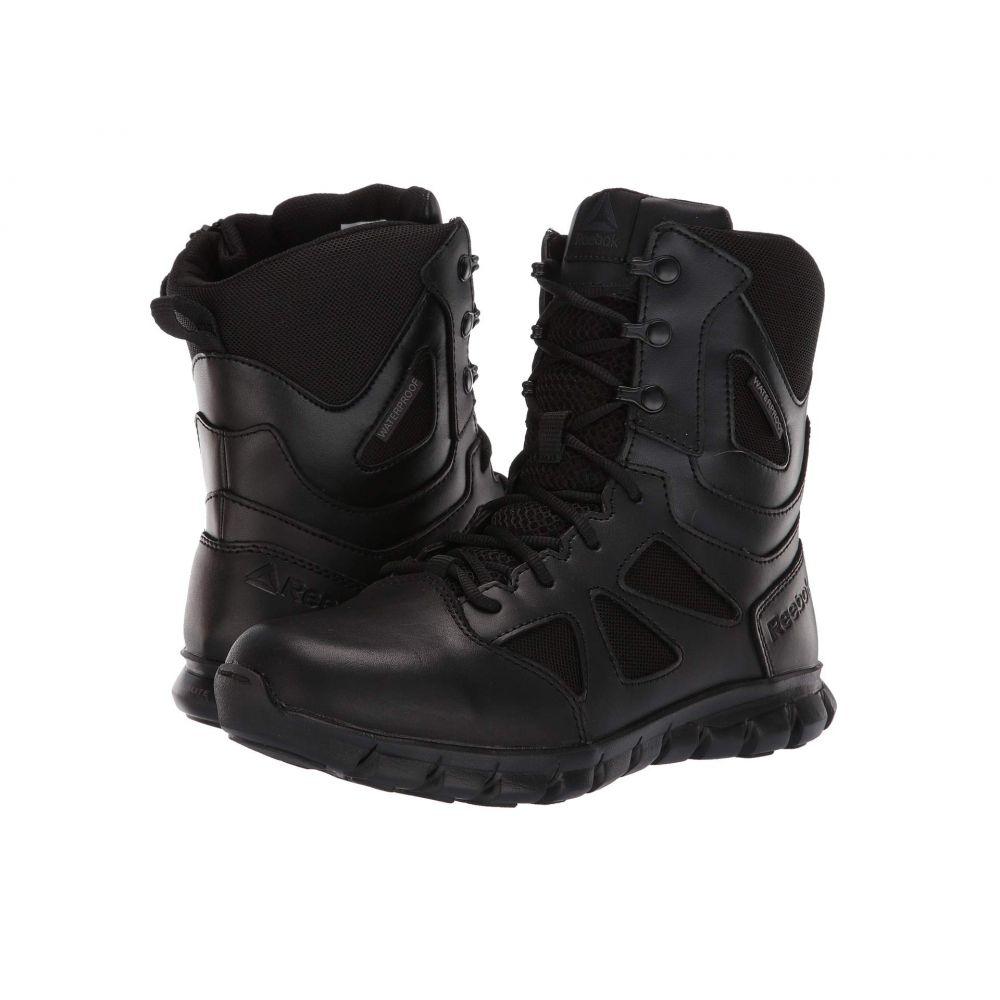 リーボック Reebok Work レディース ブーツ シューズ・靴【8' Sublite Cushion Tactical】Black