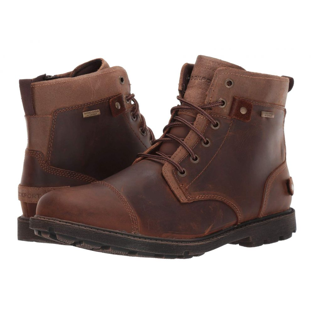 ロックポート Rockport メンズ ブーツ シューズ・靴【Waterproof Rugged Bucks II CT Boot】Boston Tan