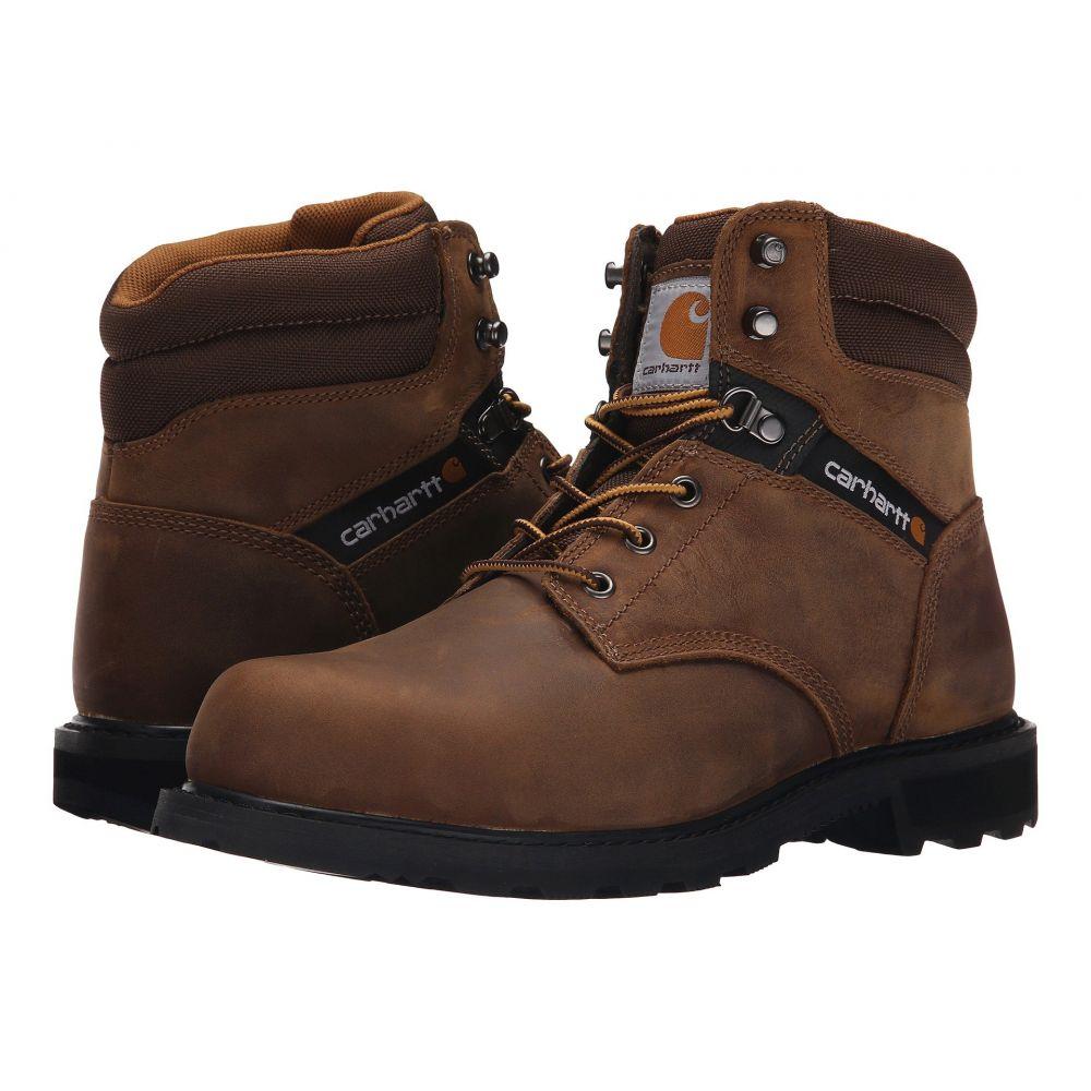 【限定品】 カーハート シューズ・靴【Traditional Carhartt 6' メンズ ブーツ ワークブーツ シューズ・靴【Traditional Leather Welt 6' Steel Toe Work Boot】Crazy Horse Brown Leather, J.herself:4d94ca9d --- maalem-group.com