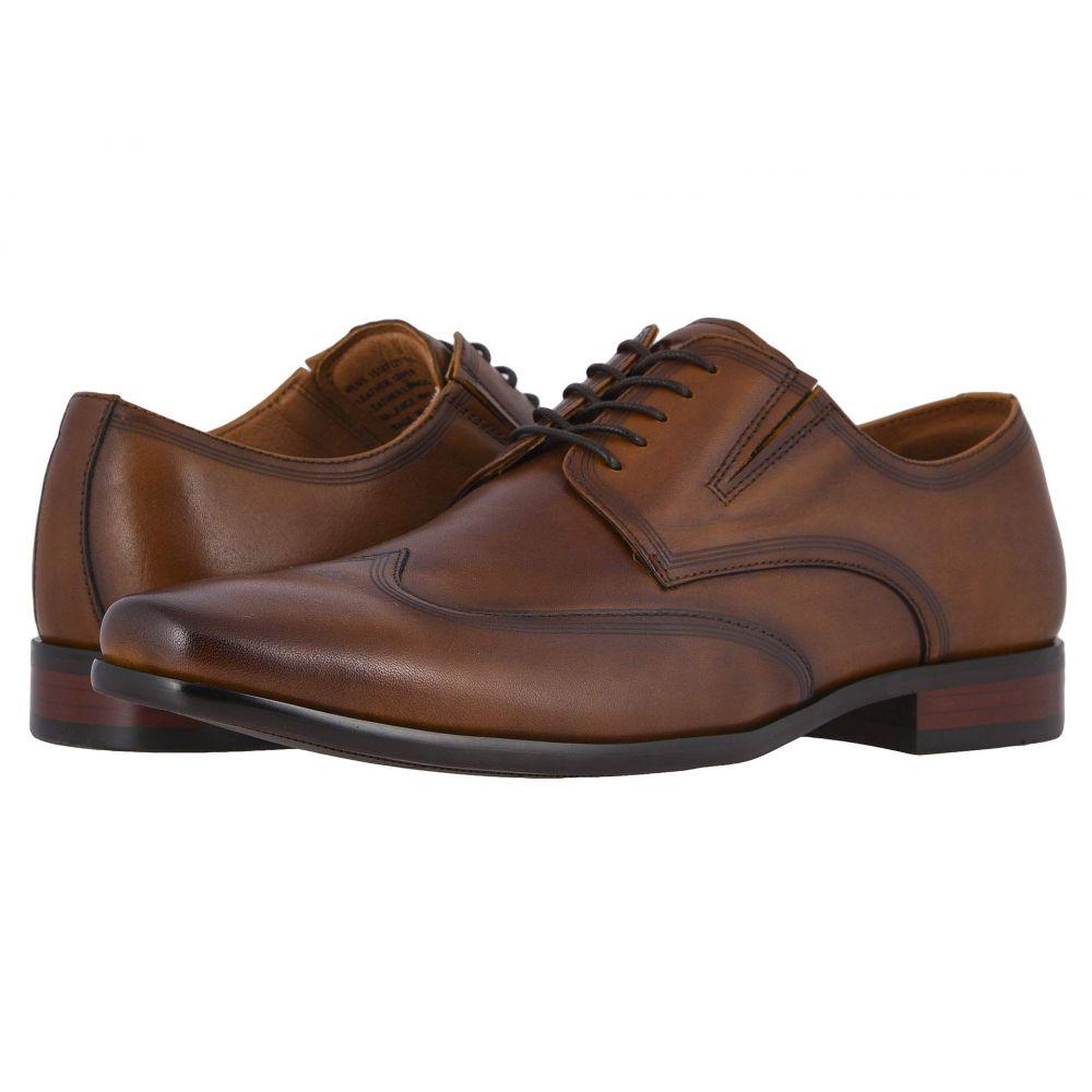 フローシャイム Florsheim メンズ 革靴・ビジネスシューズ ウイングチップ シューズ・靴【Postino Wing Tip Oxford】Cognac Smooth