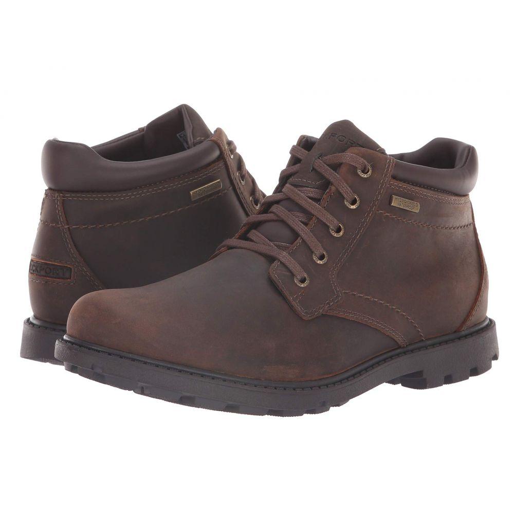 ロックポート Rockport メンズ ブーツ シューズ・靴【Rugged Bucks Waterproof Boot】Tan