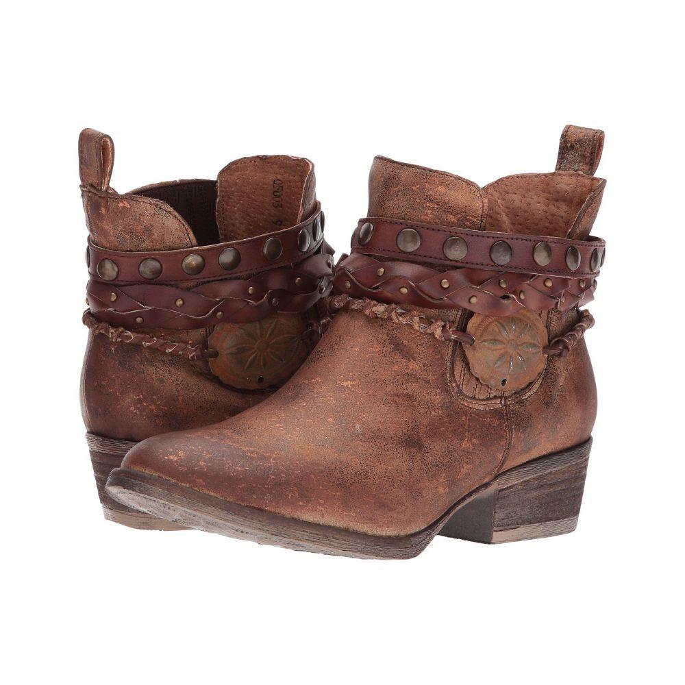 コラル Corral Boots レディース ブーツ シューズ・靴【Q5003】Brown