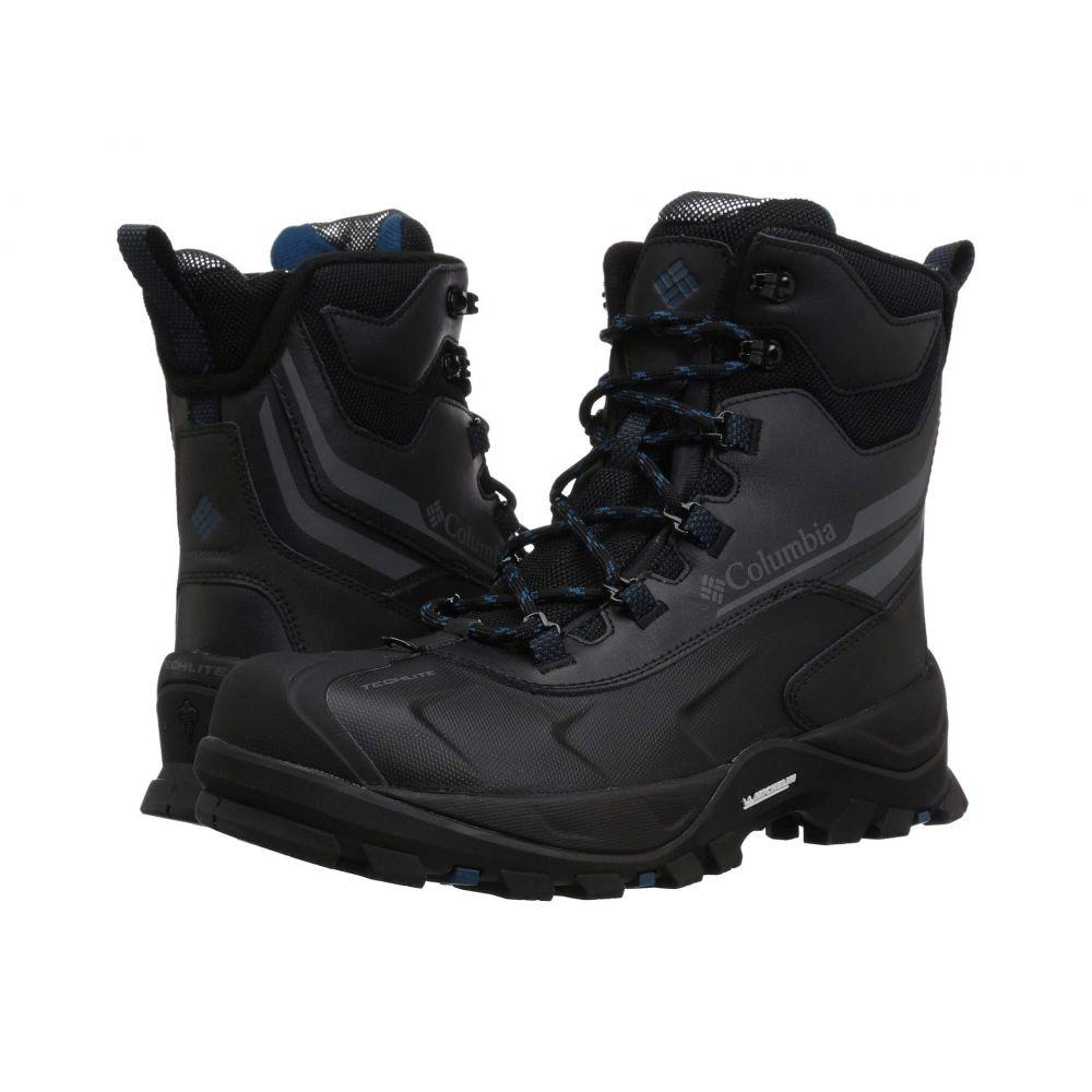 コロンビア Columbia メンズ ブーツ シューズ・靴【Bugaboot Plus IV Omni-Heat】Black/Phoenix Blue