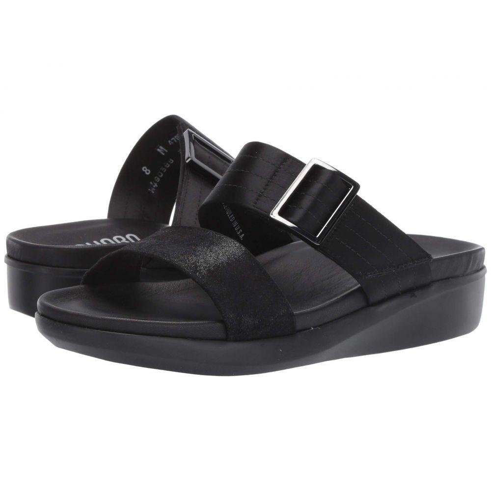 マンロー Munro レディース サンダル・ミュール シューズ・靴【Cameron】Black/Black Combo