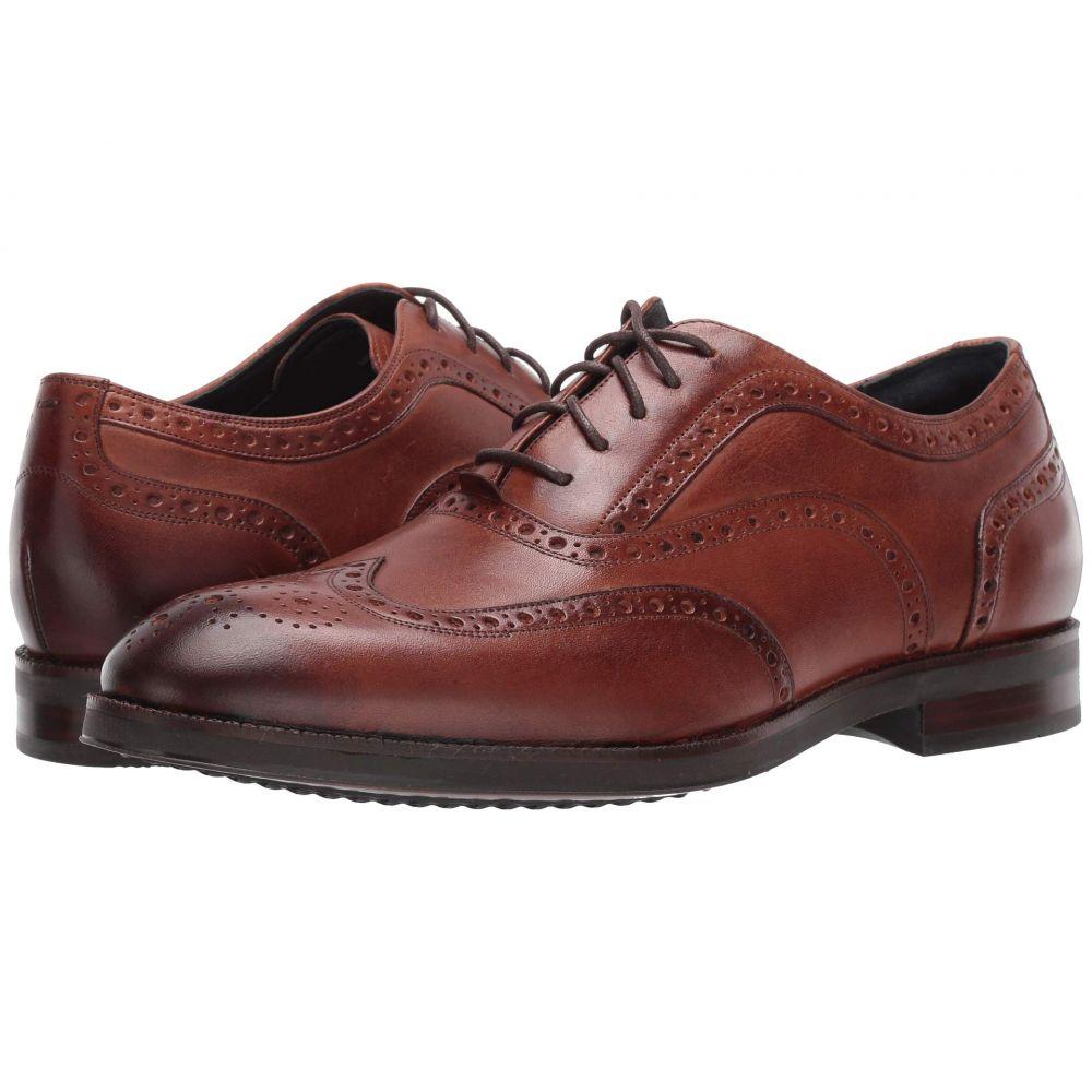 コールハーン Cole Haan メンズ 革靴・ビジネスシューズ ウイングチップ シューズ・靴【Lewis Grand 2.0 Wing Tip Oxford】British Tan