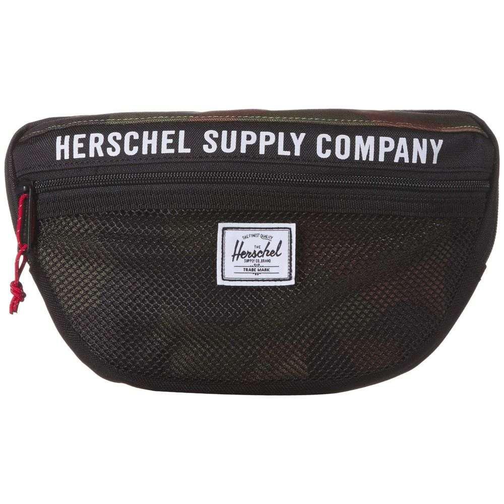 ハーシェル サプライ Herschel Supply Co. レディース ボディバッグ・ウエストポーチ バッグ【Nineteen】Black/Woodland Camo