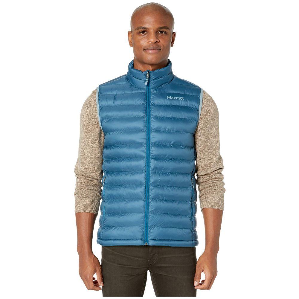 マーモット メンズ トップス ベスト・ジレ Moroccan Blue 【サイズ交換無料】 マーモット Marmot メンズ ベスト・ジレ トップス【Solus Featherless Vest】Moroccan Blue