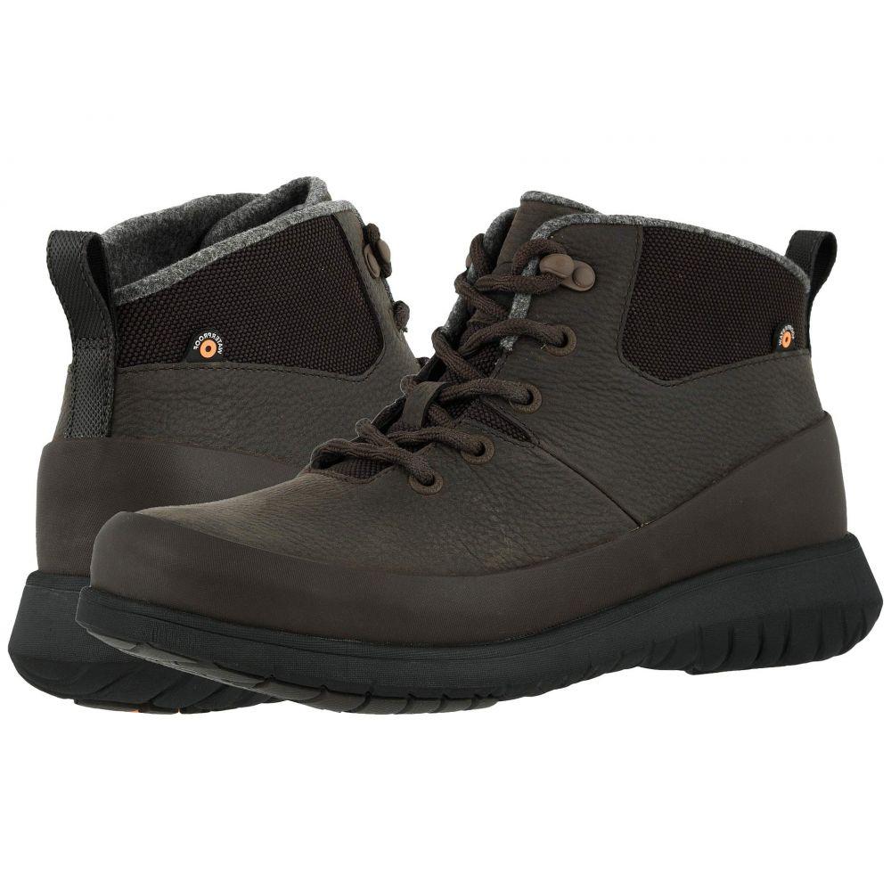 ボグス Bogs メンズ ブーツ シューズ・靴【Freedom Lace Mid】Dark Brown