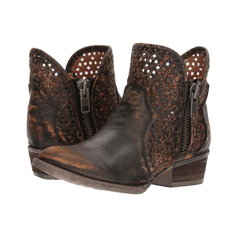 コラル Corral Boots レディース ブーツ シューズ・靴【Q5021】Black/Yellow