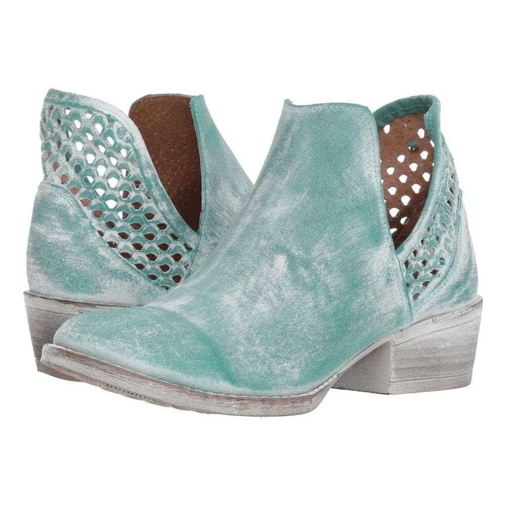 コラル Corral Boots レディース ブーツ シューズ・靴【Q5026】Turquoise