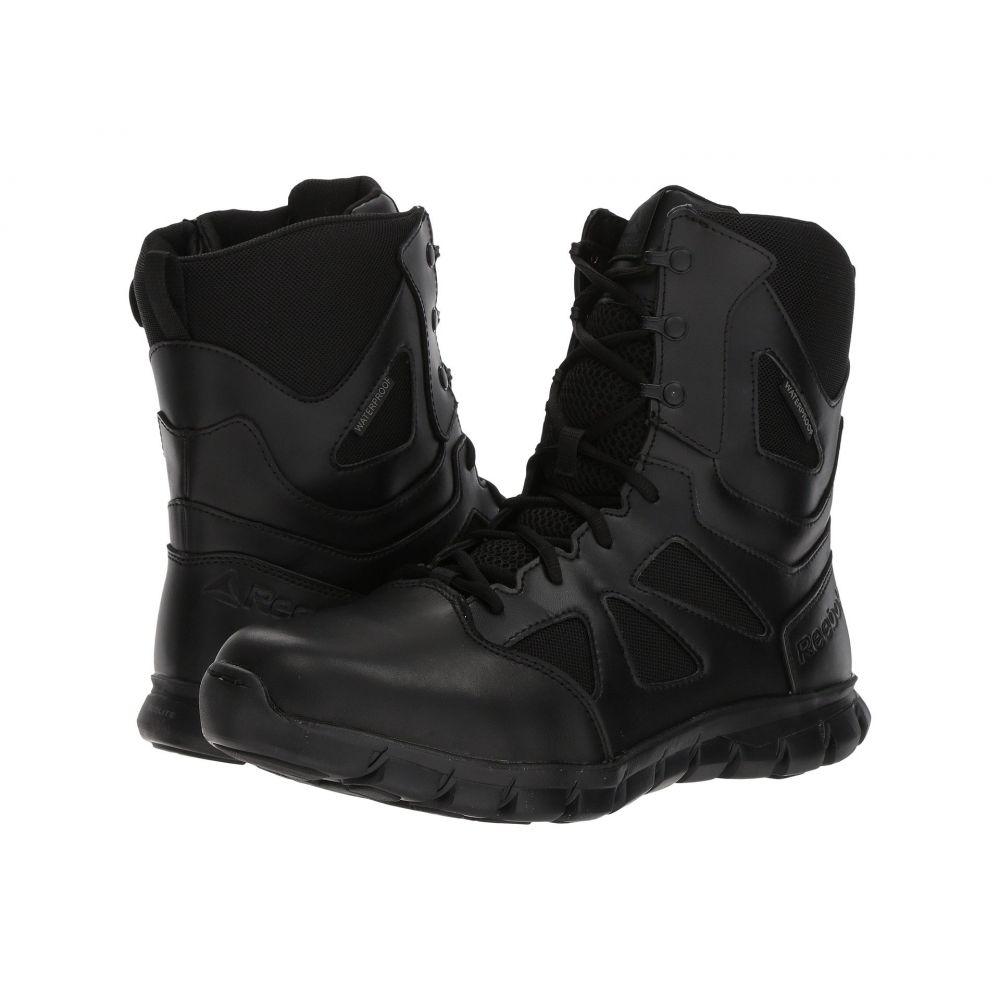 リーボック Reebok Work メンズ ブーツ シューズ・靴【Sublite Cushion Tactical 8' Boot WP】Black