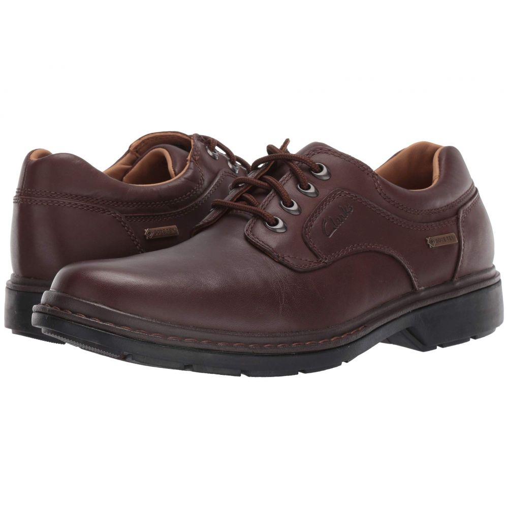 クラークス Clarks メンズ 革靴・ビジネスシューズ シューズ・靴【Rockie Lo Gtx】Brown Leather