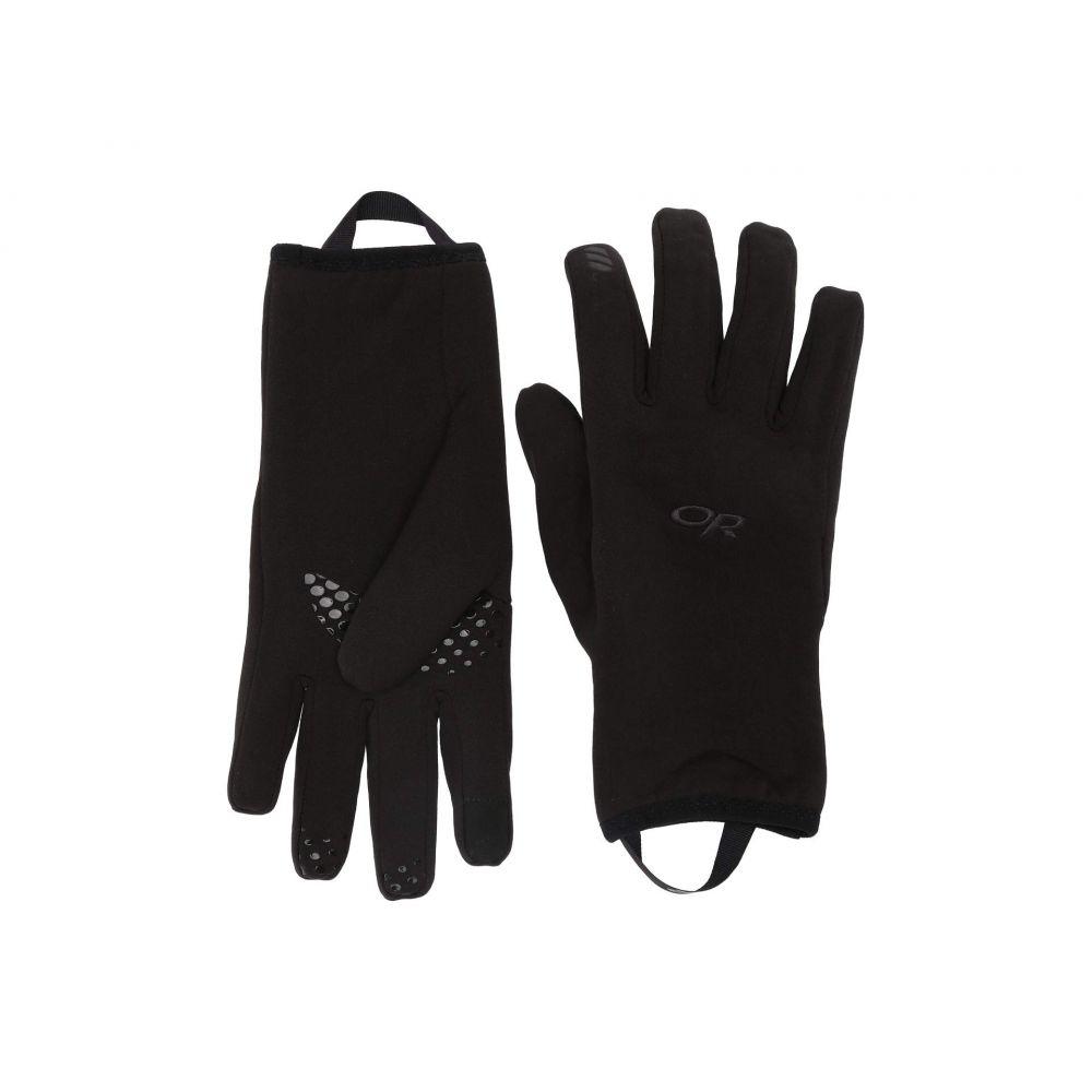 アウトドアリサーチ Outdoor Research レディース 手袋・グローブ 【Waterproof Liners】Black