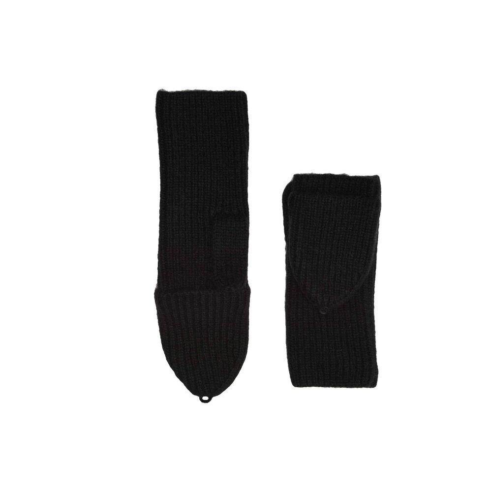 アグ UGG レディース 手袋・グローブ ミトン【Cozy Knit Flip Mitten】Black