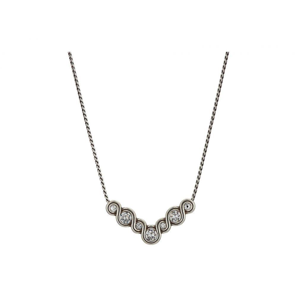 ブライトン Brighton レディース ネックレス ジュエリー・アクセサリー【Infinity Sparkle Necklace】Silver/Crystal