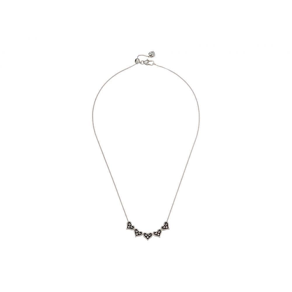 ブライトン Brighton レディース ネックレス ジュエリー・アクセサリー【Alcazar Hearts Slider Necklace】Crystal