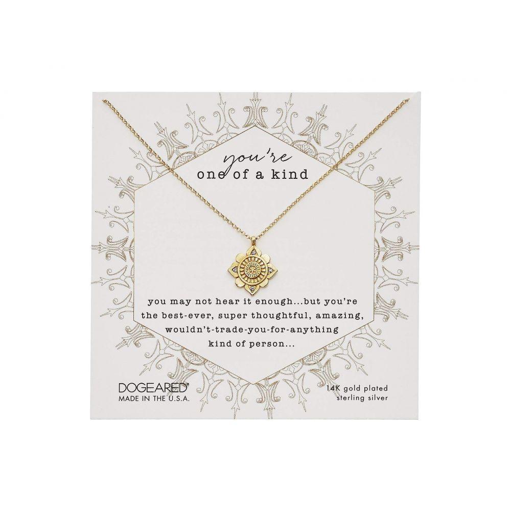 ドギャード Dogeared レディース ネックレス ジュエリー・アクセサリー【You're One Of A Kind, Crystal Mandala Necklace】Gold