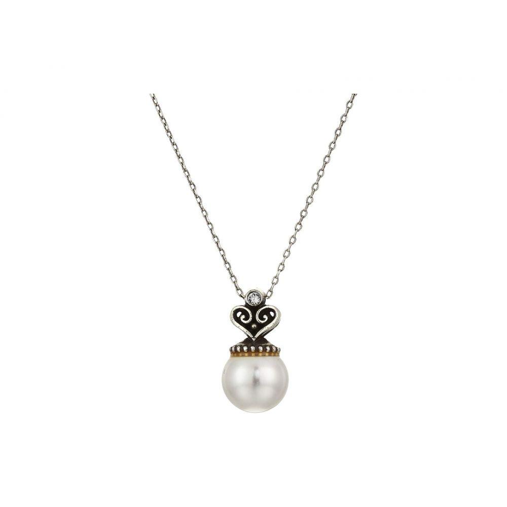 ブライトン Brighton レディース ネックレス ジュエリー・アクセサリー【Alcazar Short Necklace Gift Box】Pearl