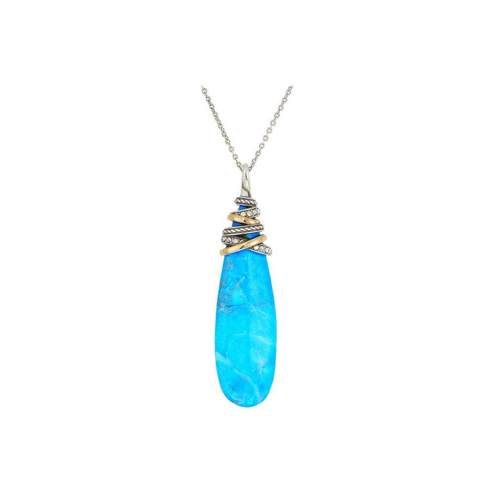 ブライトン Brighton レディース ネックレス ジュエリー・アクセサリー【Neptune's Rings Pyramid Necklace】Turquoise