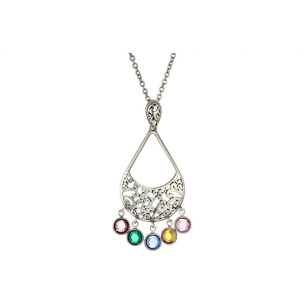 ブライトン Brighton レディース ネックレス ジュエリー・アクセサリー【Elora Gems Drops Necklace】Multi