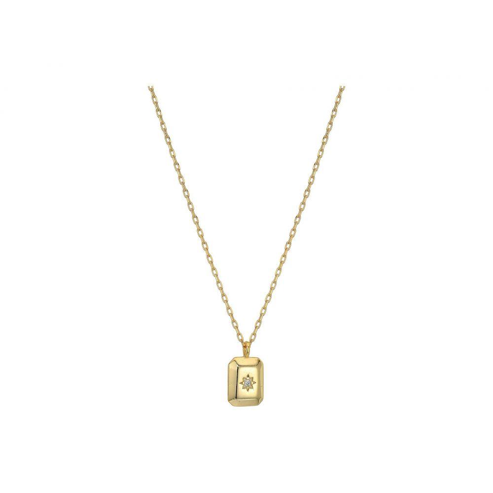 シャシ SHASHI レディース ネックレス ジュエリー・アクセサリー【Petite Starburst Tag Necklace】Gold
