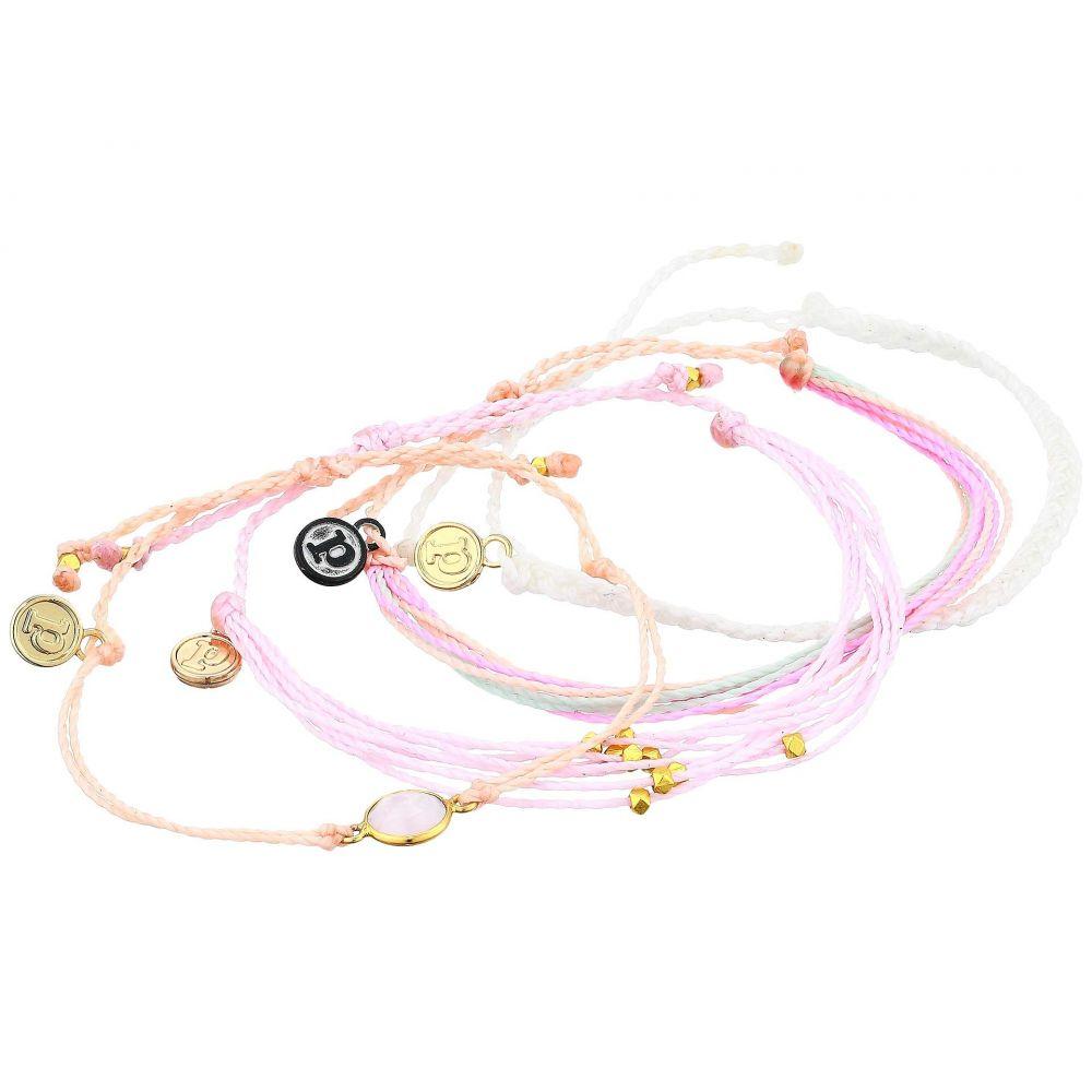 プラ ヴィダ Pura Vida レディース ブレスレット 4点セット ジュエリー・アクセサリー【Feminine 4-Pack Bracelet】Rose