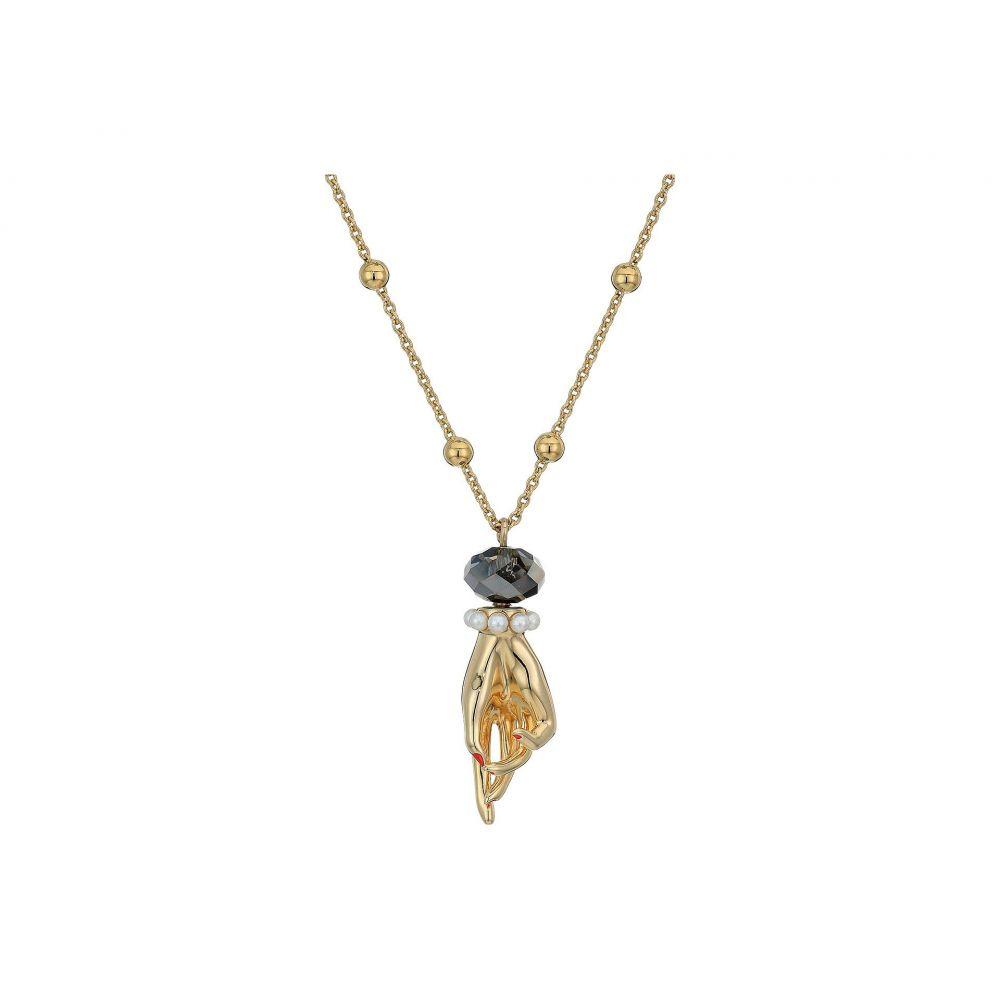 スワロフスキー Swarovski レディース ネックレス ジュエリー・アクセサリー【Tarot Magic Hand Pendant Necklace】Crystal Silver Night