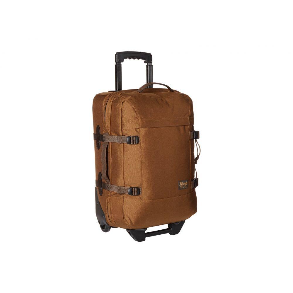 フィルソン Filson レディース スーツケース・キャリーバッグ バッグ【Dryden 2-Wheeled Carry-On Bag】Whiskey