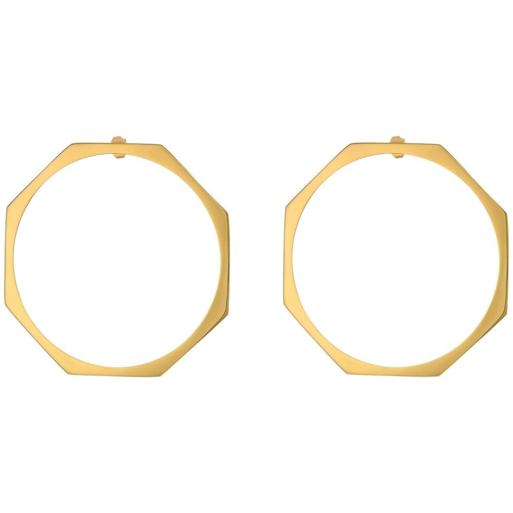 ミアンサイ Miansai レディース イヤリング・ピアス ジュエリー・アクセサリー【Ponti Earrings - Large】Polished Gold