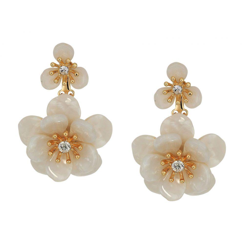 リリーピュリッツァー Lilly Pulitzer レディース イヤリング・ピアス ジュエリー・アクセサリー【Moonlight Garden Earrings】Resort White