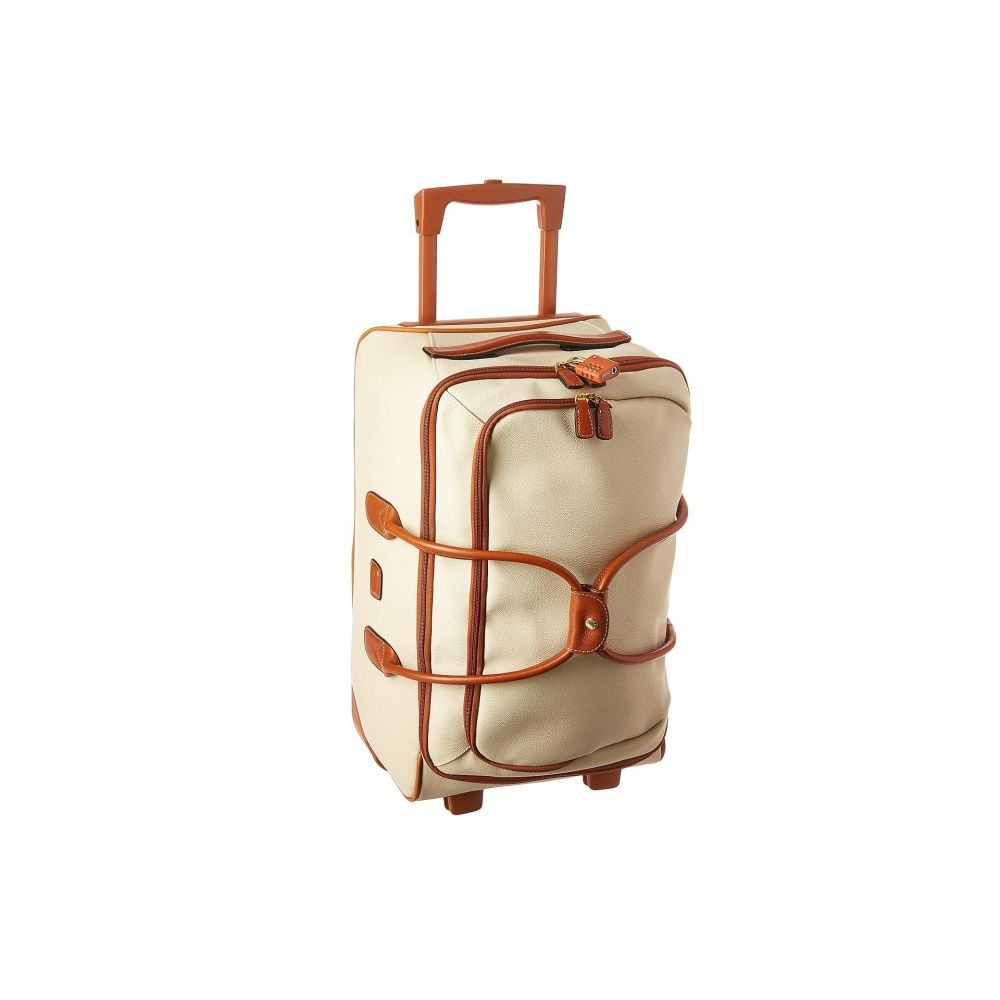ブリックス Bric's Milano レディース スーツケース・キャリーバッグ バッグ【Firenze - 21' Carry-On Rolling Duffel】Cream