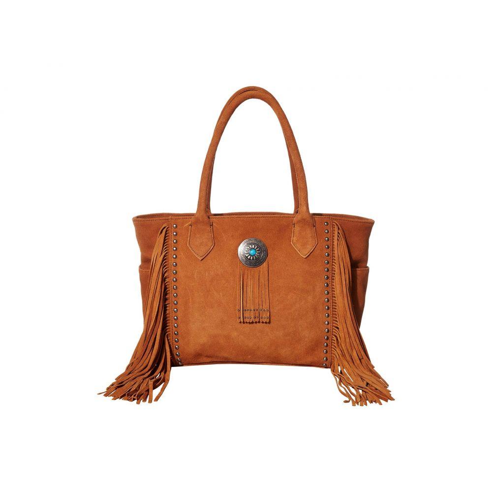 スカーリー Scully レディース ハンドバッグ バッグ【Valentine Suede Fringe Handbag】Cinnamon