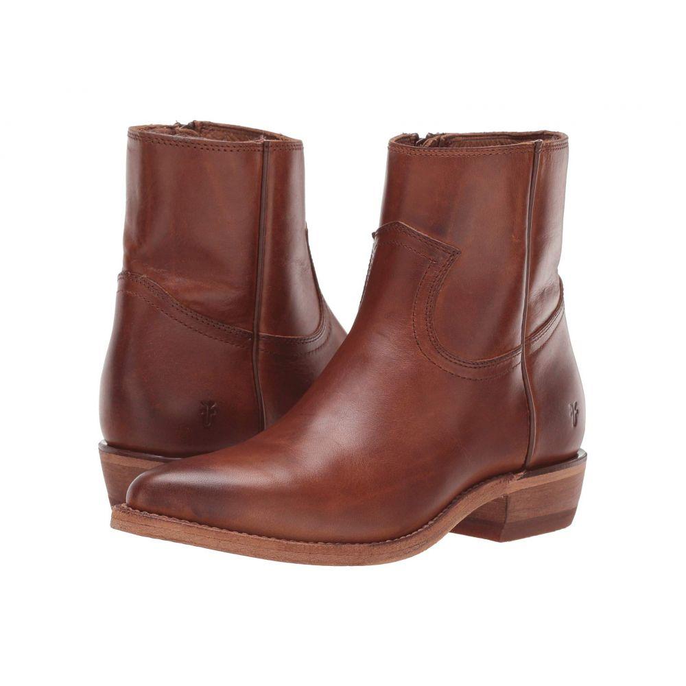 フライ Frye レディース ブーツ シューズ・靴【Billy Inside Zip Bootie】Caramel Antique Pull Up Leather