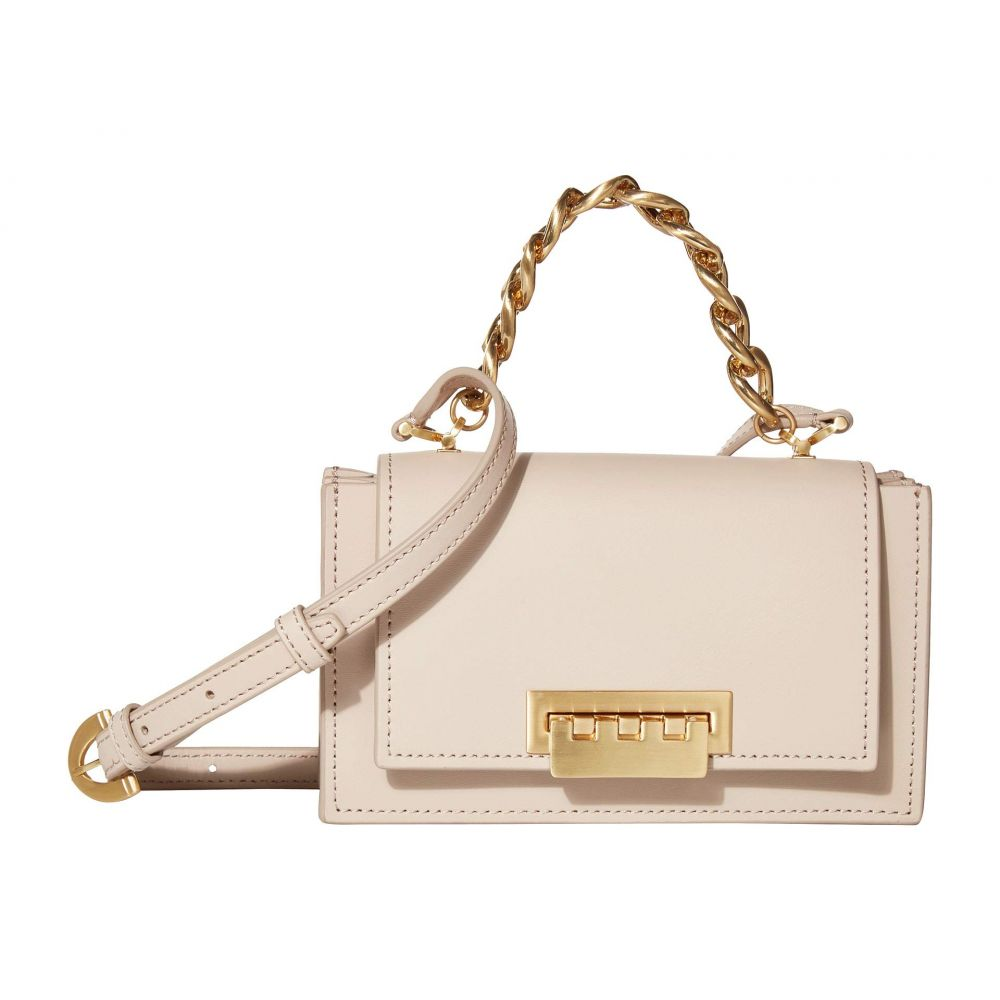 ザック ポーゼン ZAC Zac Posen レディース ショルダーバッグ バッグ【Earthette Chain Mini Top-Handle Accordion - Solid】Mushroom