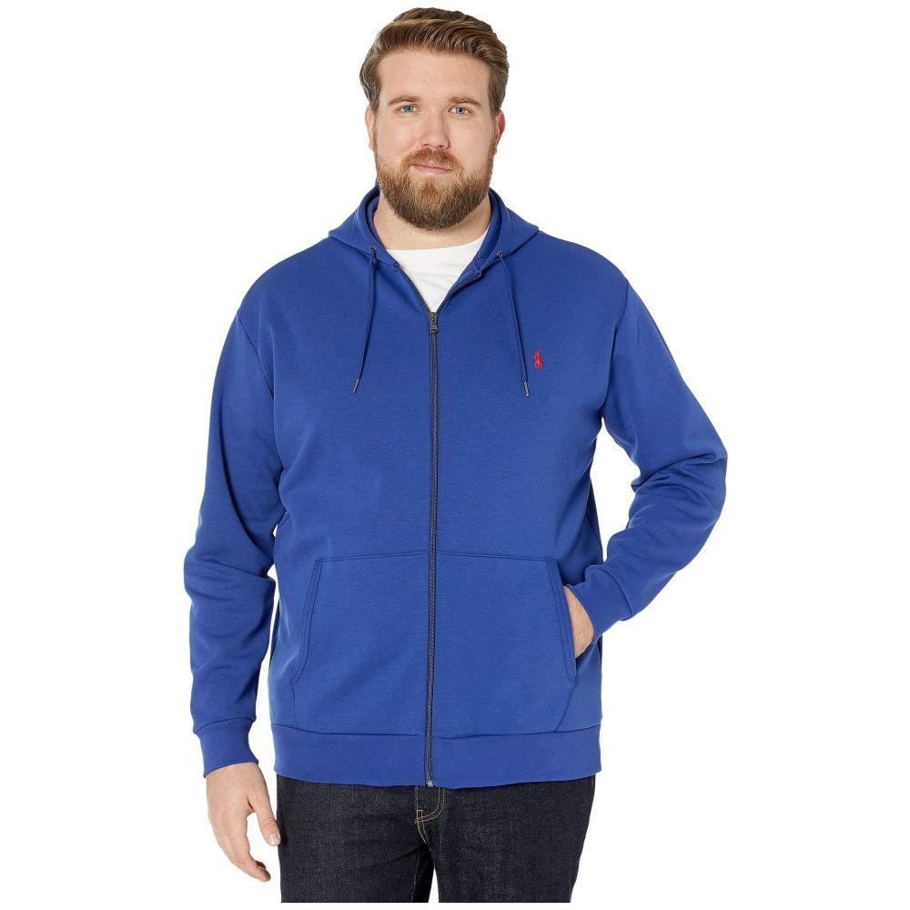 ラルフ ローレン Polo Ralph Lauren Big & Tall メンズ トップス 大きいサイズ【Big & Tall Double Knit Full Zip】Sporting Royal