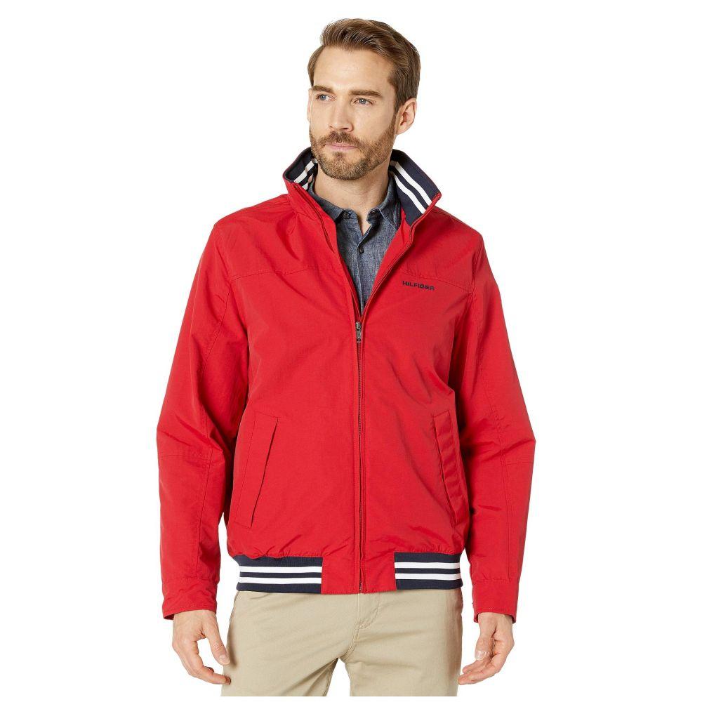 トミー ヒルフィガー Tommy Hilfiger メンズ ジャケット アウター【Regatta Jacket】Apple Red