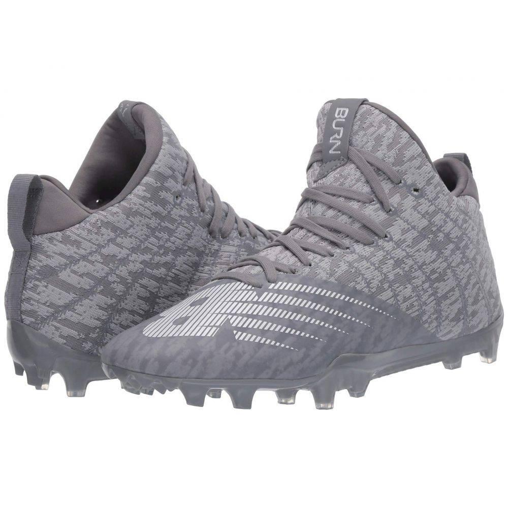 ニューバランス New Balance メンズ ラクロス シューズ・靴【Burn X2 Mid】Grey/Grey