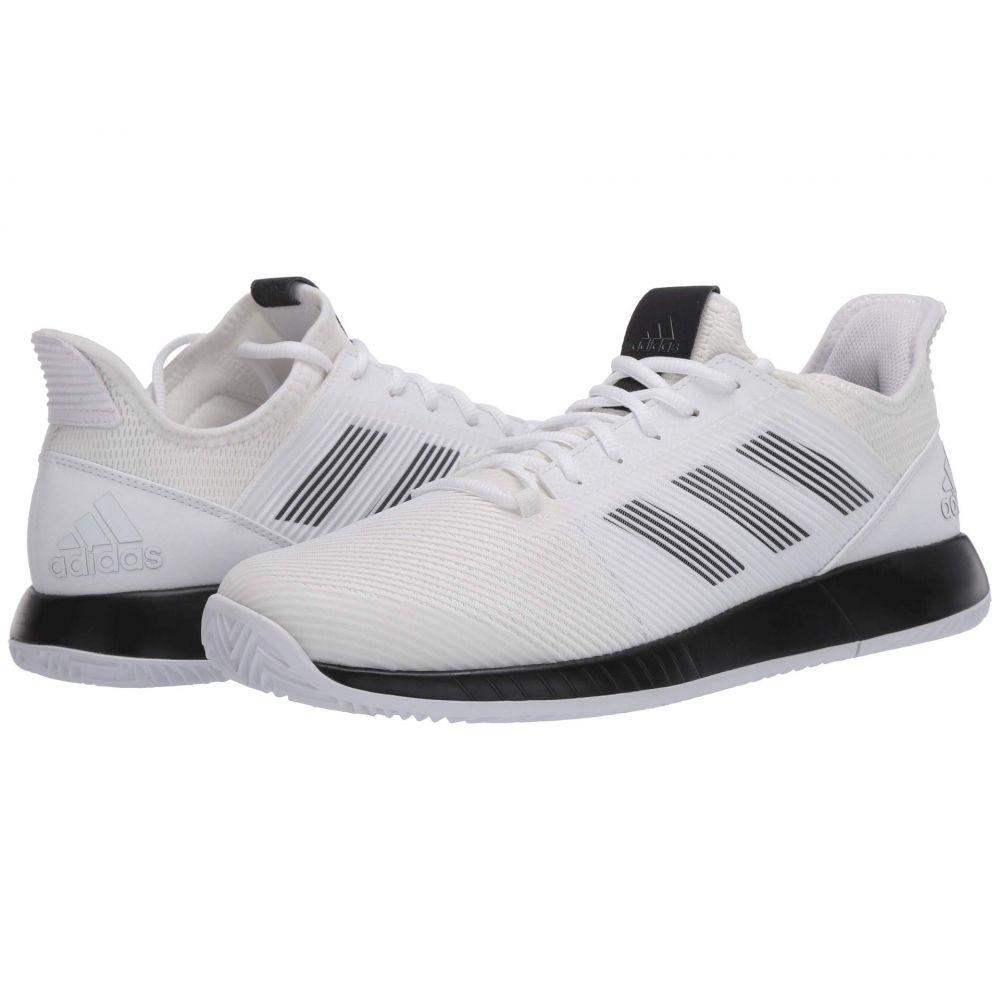 アディダス adidas メンズ テニス シューズ・靴【Defiant Bounce 2】Footwear White/Core Black/Footwear White