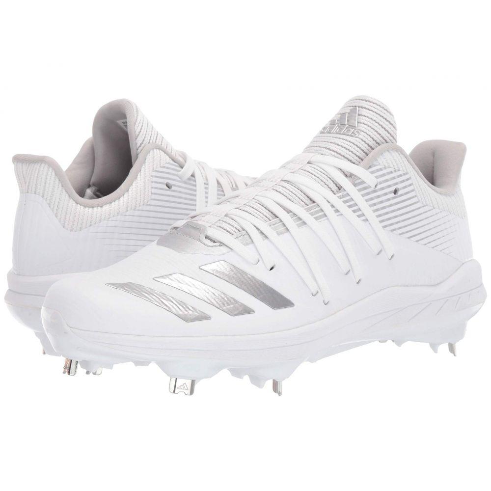 アディダス adidas メンズ 野球 シューズ・靴【Afterburner 6】Footwear White/Silver Metallic/Grey Two