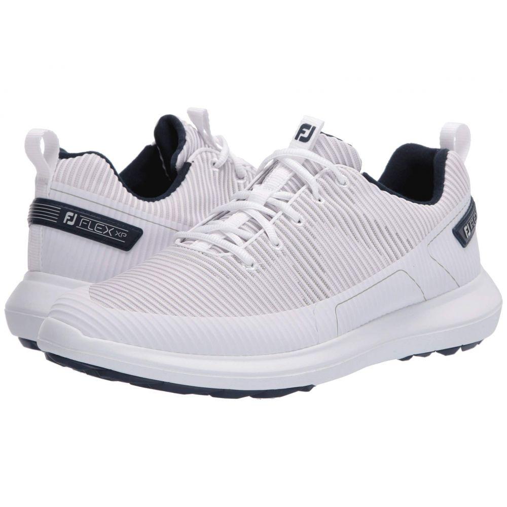 フットジョイ FootJoy メンズ ゴルフ シューズ・靴【Flex XP】White