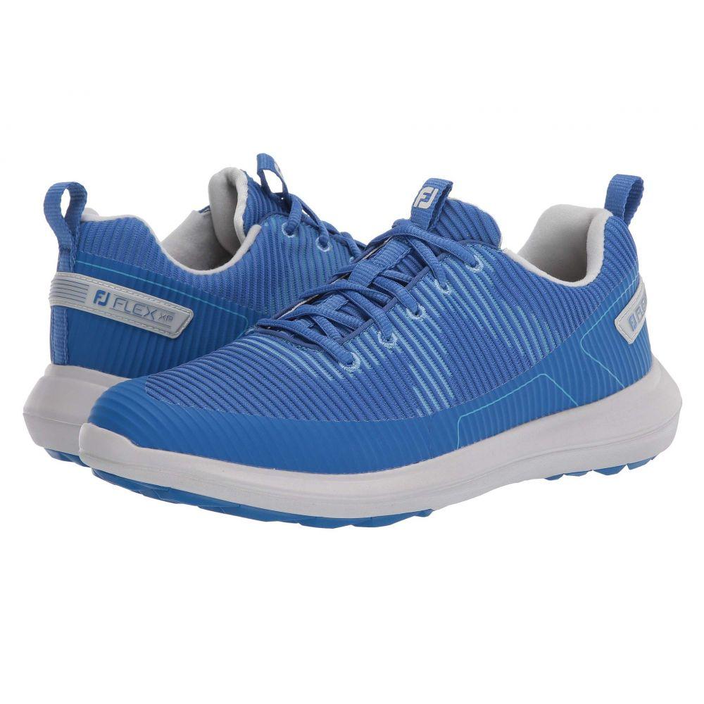 フットジョイ FootJoy メンズ ゴルフ シューズ・靴【Flex XP】Blue