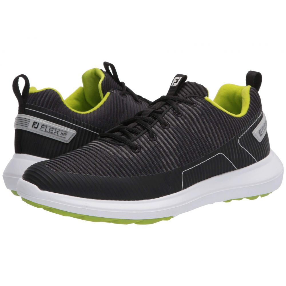 フットジョイ FootJoy メンズ ゴルフ シューズ・靴【Flex XP】Black