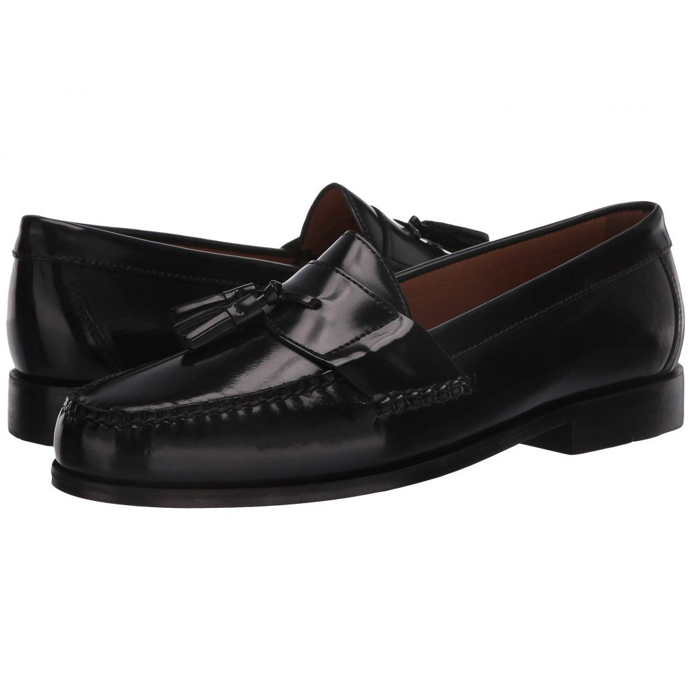 ジョンストン&マーフィー Johnston & Murphy メンズ ローファー シューズ・靴【Hayes Tassel Loafer】Black