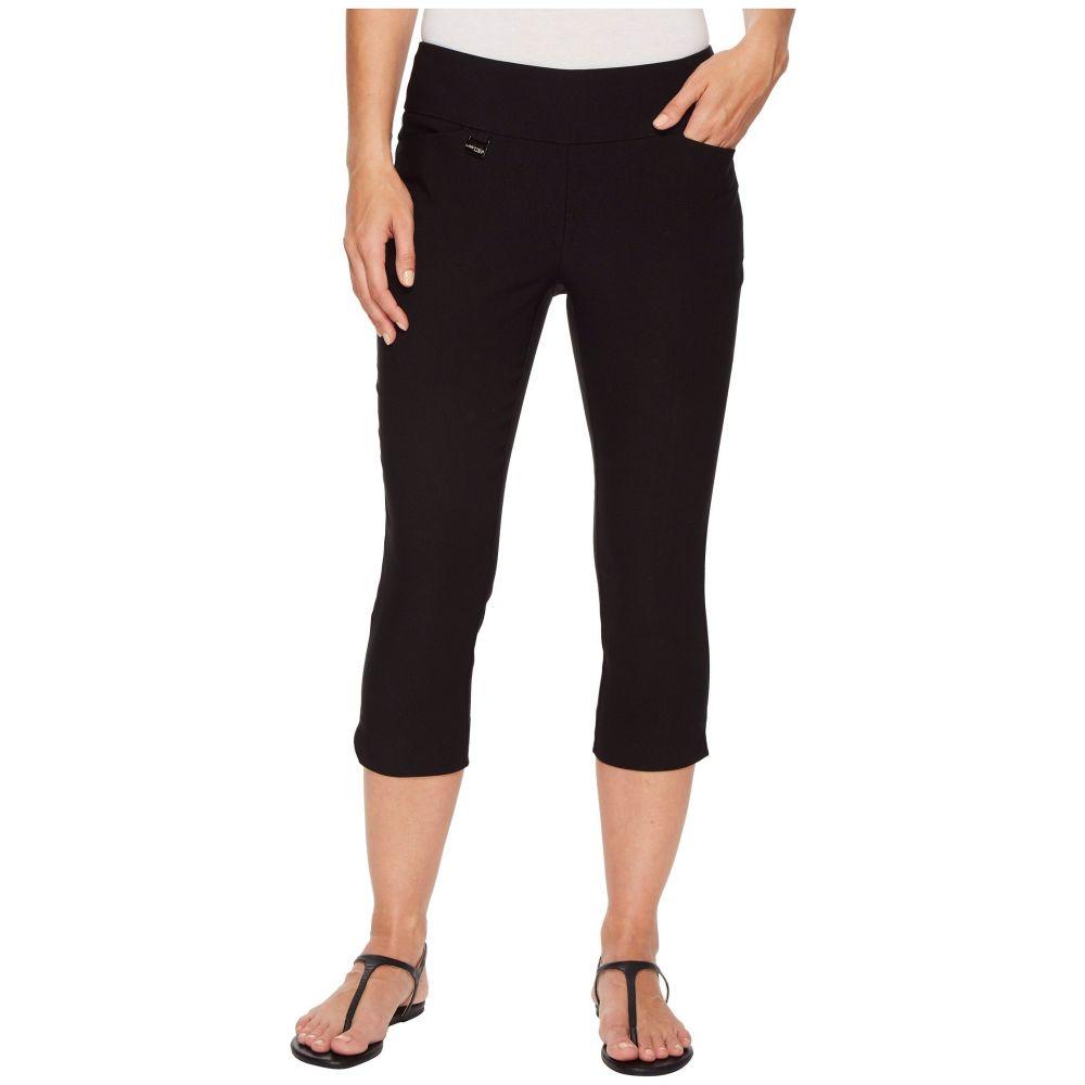 リゼッタ Lisette L Montreal レディース クロップド ボトムス・パンツ【Solid Magical Lycra Capri Pants】Black