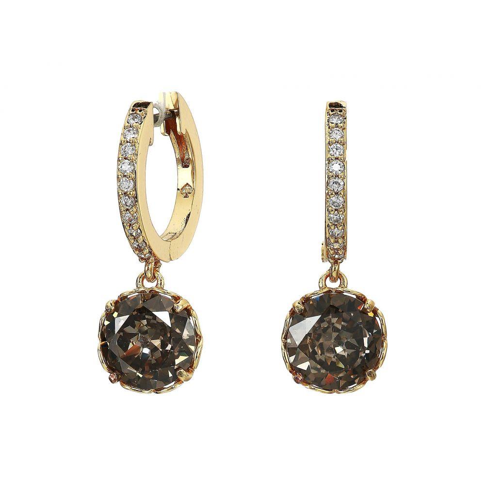 ケイト スペード Kate Spade New York レディース イヤリング・ピアス ジュエリー・アクセサリー【That Sparkle Pave Huggies Earrings】Black Diamond