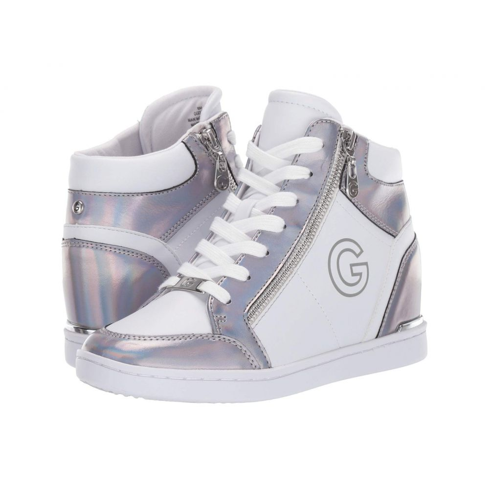 ゲス G by GUESS レディース スニーカー シューズ・靴【Dillin】White/Silver