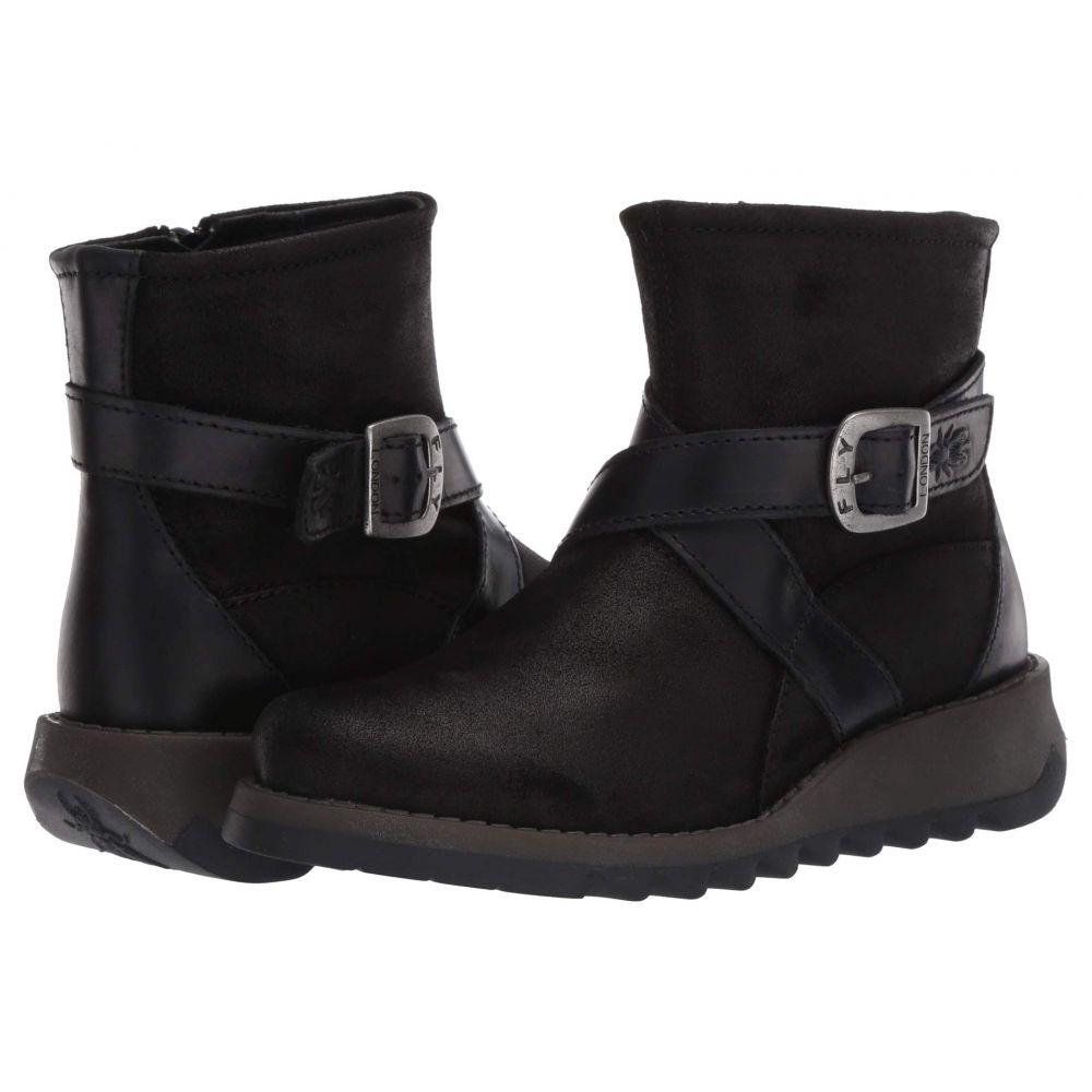 フライロンドン FLY LONDON レディース ブーツ シューズ・靴【SAKE418FLY】Black Pampa/Rug