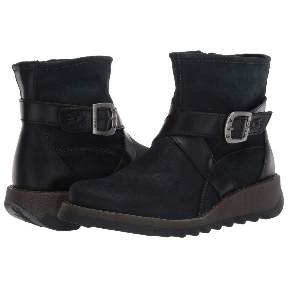 フライロンドン FLY LONDON レディース ブーツ シューズ・靴【SAKE418FLY】Dark Petrol/Black Pampa/Rug
