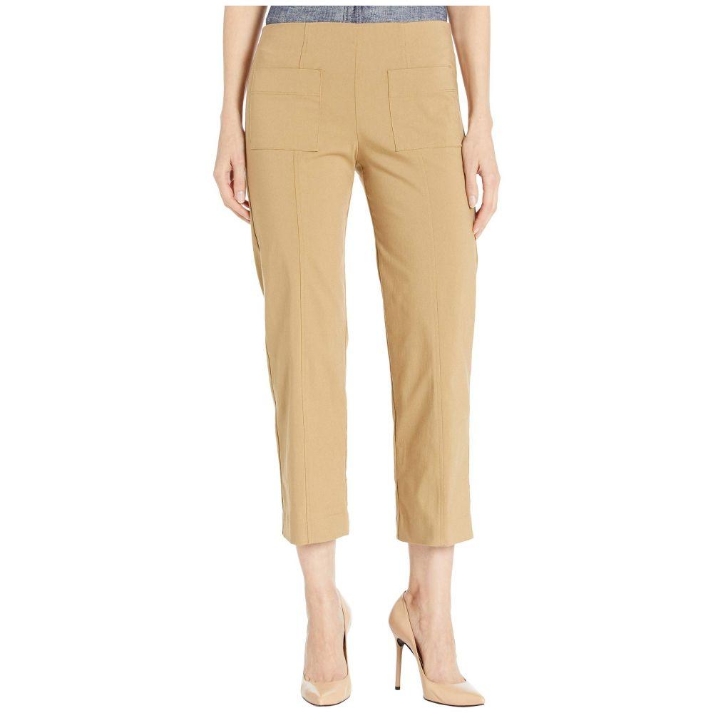 エリオットローレン Elliott Lauren レディース ボトムス・パンツ 【Control Stretch Pull-On Pants with Center Front Pockets】Latte