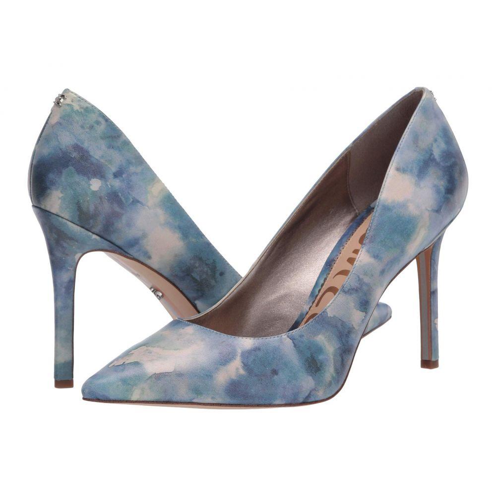 サム エデルマン Sam Edelman レディース ヒール シューズ・靴【Hazel】Blue Multi Shibori Print Leather